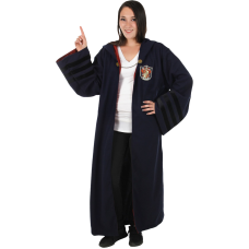 Fantastic Beasts 2: The Crimes of Grindelwald - Gryffindor Vintage Hogwarts Robe Adult Costume Replica (One Size Fits Most)