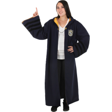 Fantastic Beasts 2: The Crimes of Grindelwald - Hufflepuff Vintage Hogwarts Robe Adult Costume Replica (One Size Fits Most)