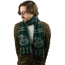 Harry Potter - Slytherin Reversible Knit Scarf