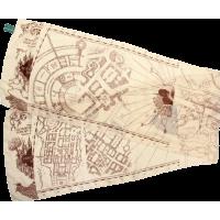 Harry Potter - Marauder's Map Scarf