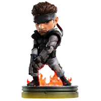 Metal Gear Solid - Solid Snake 8 Inch PVC Statue