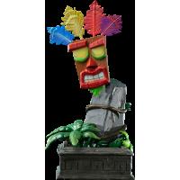 Crash Bandicoot - Aku Aku Mask 16 Inch Statue