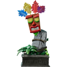 "Crash Bandicoot - Aku Aku Mask 16"" Statue"