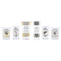 Game of Thrones - Black & Gold Premium Glass Set
