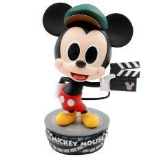 Disney - Director Mickey Mouse 90th Anniversary Cosbaby 3.75 inch Hot Toys Bobble-Head Figure