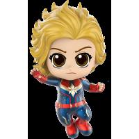 Captain Marvel (2019) - Captain Marvel Flying Cosbaby Hot Toys Bobble-Head Figure