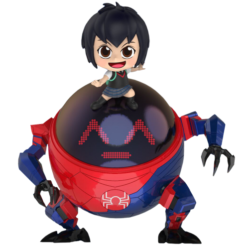 Spider-Man: Into the Spider-Verse - Peni Parker with SP//dr Cosbaby Hot Toys Bobble-Head Figure
