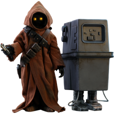 Star Wars Episode IV: A New Hope - Jawa & EG-6 Power Droid 1/6th Scale Hoys Toys Action Figure 2-Pack