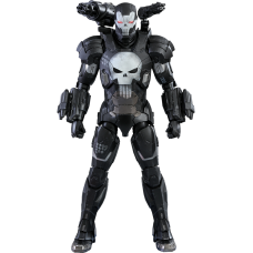 Marvel: Future Fight - The Punisher in War Machine Armour 1/6th Scale Hot Toys Action Figure