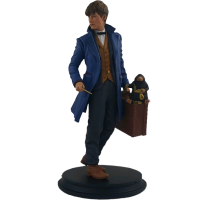 Fantastic Beasts and Where to Find Them - Newt with Niffler 8 Inch Statue