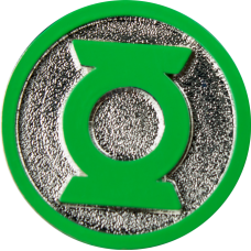 Green Lantern - Logo Colour Enamel Lapel Pin