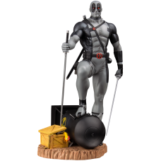 Deadpool - X-Force Deadpool on Atom Bomb Statue Variant