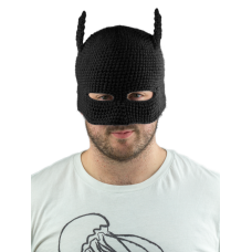 Batman - Batman Cowl Knit Beanie (Black)