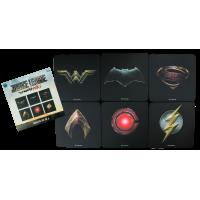 Justice League Movie - Full Team Logo Coaster Set of 6