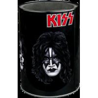 Kiss - Band Faces Metal Can Cooler