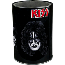 Kiss - Band Faces Metal Can Cooler