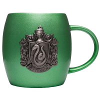 Harry Potter - Slytherin Metallic Crest Ceramic Mug