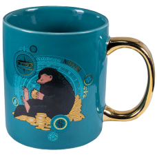 Fantastic Beasts and Where to Find Them - Niffler Gold Electroplated Coffee Mug