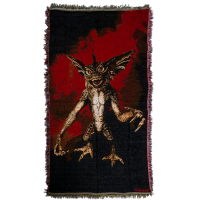 Gremlins - Stripe Throw Rug (92 x 147cm)