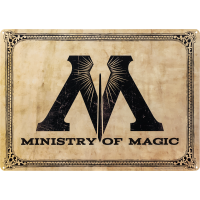 Harry Potter - Ministry of Magic Tin Sign
