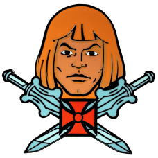 Masters of the Universe - He-Man Enamel Pin