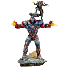 Avengers 4: Endgame - Iron Patriot and Rocket 1/10th Scale Statue