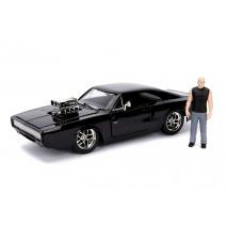 Fast and Furious - 1970 Dodge Charger 1:24 with Dom Hollywood Ride