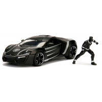 Black Panther - Lykan Hypersport 1:24 Scale Hollywood Rides Diecast Vehicle