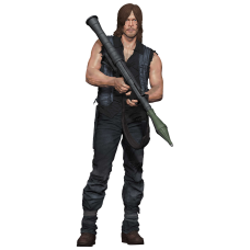The Walking Dead - Daryl Dixon with Rocket Launcher Deluxe 10 Inch Action Figure