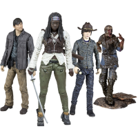 The Walking Dead - TV Series - 5inch Action Figure Assortment Set of 4 (Series 7)