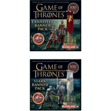 Game of Thrones - Construction Set Banner Pack Assortment