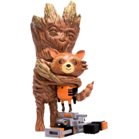 Guardians of the Galaxy - Rocket and Groot Treehugger 9 inch Vinyl Figure