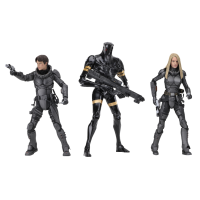 Valerian and the City of a Thousand Planets -Series 1 7 inch Action Figure Assortment (Set of 3)