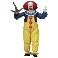 "It (1990) - Pennywise ""Turn Back Now"" Ultimate 7inch Scale Action Figure"