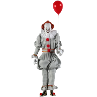 It (2017) - Pennywise Clothed 8 Inch Action Figure
