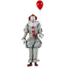 It (2017) - Pennywise Clothed 8Inch Action Figure