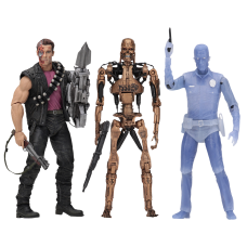 Terminator 2: Judgment Day - Kenner Tribute 7 inch Action Figure Assortment (Set of 3)