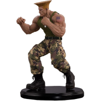 Street Fighter - Guile 1/4 Scale Statue