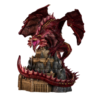 Dungeons and Dragons - Klauth the Red Dragon 24 Inch Statue