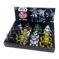Star Wars - Poptaters 2 Inch Keychain CDU Assortment