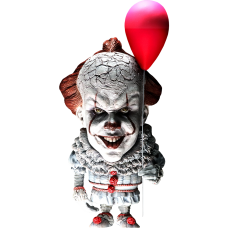It (2017) - Pennywise Defo-Real 6 Inch Vinyl Statue