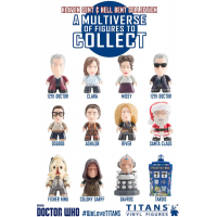 Doctor Who - 12th Doctor Heaven Sent and Hell Bent Titans Vinyl Mini Figure Display Box (20 Units)
