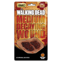 The Walking Dead - Medium Decaying Wound Latex Appliance