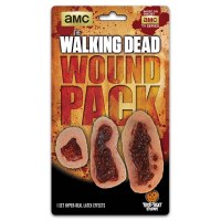 The Walking Dead - Wound Latex Appliance 3-Pack