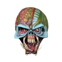 Iron Maiden - Final Frontier Eddie Mask