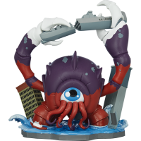 "Unruly Industries - Crabthulu: Terror of the Deep! 7 Inch Vinyl Figure by Mike ""Poopbird Inch Groves"
