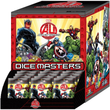 Avengers 2: Age of Ultron - Dice Masters Gravity Feed (90 Packs)