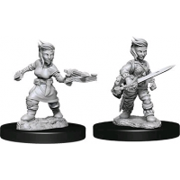 Pathfinder -?Deep Cuts Unpainted Female Halfling Rogue