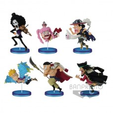 One Piece - Wcf History Relay 20th Anniv. Vol 3 Action Figures
