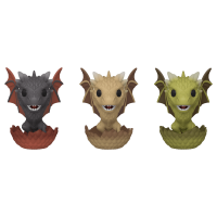 Game of Thrones - Drogon, Viserion, & Rhaegal- 3 Pack Pop! Vinyl Figure (2020 Spring Convention Exclusive)